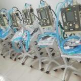 Los ventiladores serán utilizados para apoyar ucis de regiones en crisis.