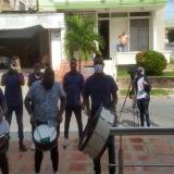 Venezolanos alegran las calles de Sincelejo con Sabor Costeño