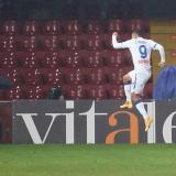 Luis Fernando Muriel, celebrando su anotación por Serie A.