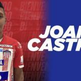 Joan Castro fue presentado por Junior este sábado.