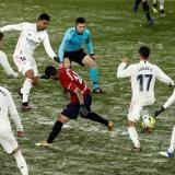 El Real Madrid no puede regresar de Pamplona por temporal de nieve