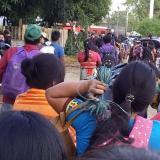 Campesinos e indígenas del sur de Córdoba protestan contra la empresa Urrá
