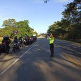 Más de 490 conductores infractores en puente de Reyes Magos en el Cesar