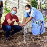 Inauguran pozo profundo en comunidad wayuu de Hatonuevo