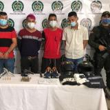Legalizan capturas de los sospechosos del atentado con granada en el Centro