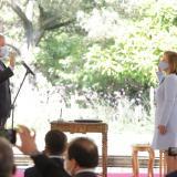 Las pullas de Duque a Fernando Carrillo al posesionar nueva procuradora