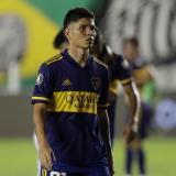 Jorman Campuzano, mediocampista del Boca Juniors.