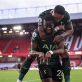 Con goles de Aurier, Kane y Ndombélé, el Tottenham sale victorioso.