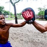 Los entrenamientos se realizan todos los días en horario matutino, en un barrio conocido como La Gallera.