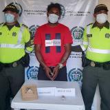Yoset Barreto Quintana, capturado.