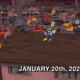 La temible predicción de Los Simpson para este 20 de enero