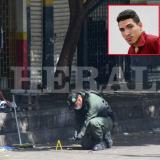 Presuntos autores materiales del ataque con granada en el Centro.