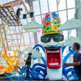 Las presentaciones de este carnaval se estarán llevando a cabo en el Cubo de Cristal.