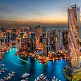 ¡Vida de ricos! Vacaciones en Dubai y le enciman vacuna contra Covid