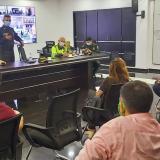 Policía y comerciantes, unidos contra la extorsión