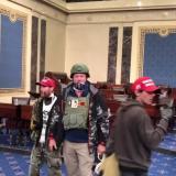 Impresionante video inédito de la toma al Capitolio en Washington