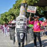 Estas escenas, propias del Carnaval de los municipios, este año se van a ver de manera virtual.