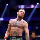 Conor McGregor, luchador irlandés.
