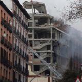 Al menos dos muertos por una explosión en un edificio en el centro de Madrid
