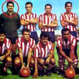 Arriba: Arturo Segovia, Calixto Avena,