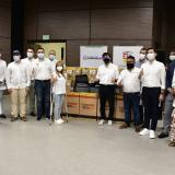 Emiratos Árabes entrega nuevos insumos médicos