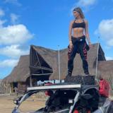Modelo Elizabeth Loaiza denuncia que fue extorsionada en el Cabo de la Vela