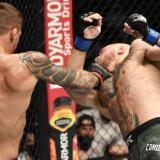 El estadounidense Dustin Poirier dio la campanada y venció al irlandés Conor McGregor en el UFC257 de Abu Dabi.