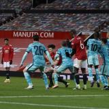 Bruno anotó el gol del triunfo de tiro libre.