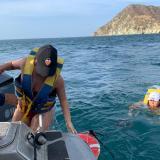 En Santa Marta, guardacostas rescatan ocho personas a la deriva
