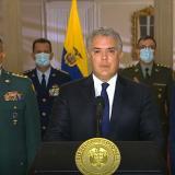 Pierde Colombia a uno de sus mejores hombres: Duque tras muerte de mindefensa