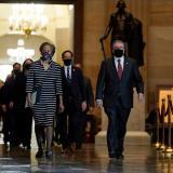 """El juicio político a Donald Trump pudiera estar """"muerto de salida"""""""