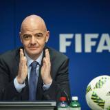 Giovanni Infantino, actual presidente de la Fifa.