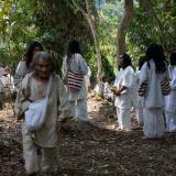 Un grupo de indígenas de la Sierra Nevada.