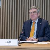 Thomas Bach, presidente del COI.