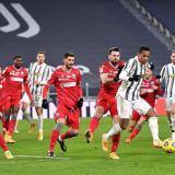 Juventus se clasifica a las semifinales de la Copa Italia.