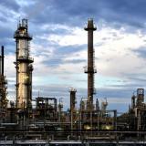 Instalaciones de la refinería de Ecopetrol ubicada en Barrancabermeja