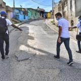 Comienza evaluación sobre estado de malla vial de Cartagena