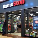Una tienda física de GameStop.