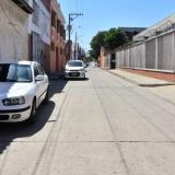 Sector del Barrio Abajo donde se registró el atraco.