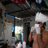 Indígenas amazónicos de Colombia, en alerta por variante brasileña de covid