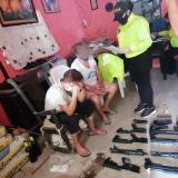 En Riohacha capturan a madre e hijo por tráfico de armas