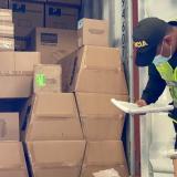 Incautan en Cartagena repuestos para electrodomésticos de contrabando