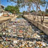 """""""No arrojen basuras a los canales"""", pide Alcaldía a cartageneros"""