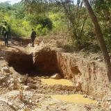 Capturan a seis hombres por minería ilegal en el pie de la Sierra Nevada