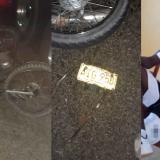 Triple choque en Campo de la Cruz: un muerto y una mujer herida