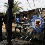 Los hechos de violencia se han registrado en el barrio Juan XXIII hoy, en Buenaventura (Colombia).