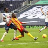 Dávinson Sánchez fue titular en el triunfo del Tottenham