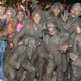 El desfile de los embarradores de Riohacha data de 1867. Es una tradición heredada de París, Francia.