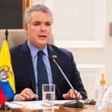 """""""No estamos pensando en público para Colombia-Brasil"""": Iván Duque"""