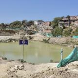 Pozo de agua junto a la vía de La Prosperidad.